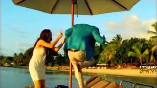 Akasher Nile ( Bangla Full Song )( Soham & Srabanti )( HD 1080p ) YouTube