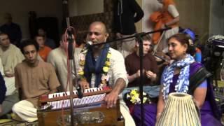 Kirtana Mela 2015 Moscow - Е.М. Мадхава прабху - Киртан 6 - 30.01.2015