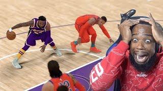 BREAKING RUSSEL WESTBROOK ANKLES! Lakers Vs Thunder NBA 2k19 MyCareer Ep.95