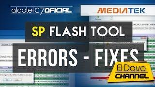 SP Flash Tool - Errors/Fixes - Drivers Mtk