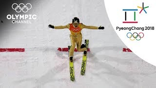 Noriaki Kasai competing in his 8th(!) Winter Games  | Winter Olympics 2018 | PyeongChang 2018
