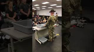 Fort Jackson Shakedown at Basic Training