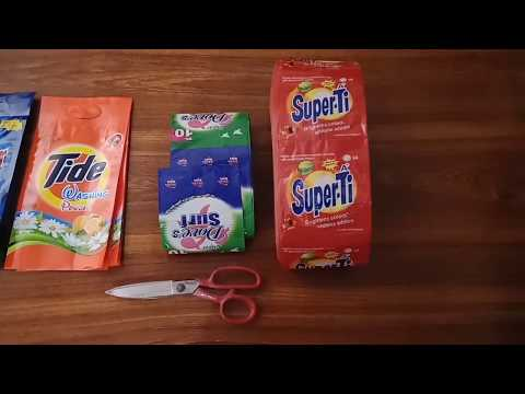 How Washing Powder is Packed Business With Low Investment