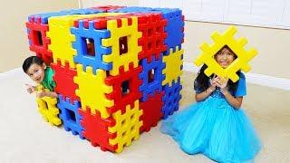 Wendy Pretend Play Building Toy Blocks Playhouse