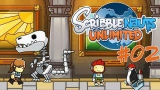 Let's Play Scribblenauts Unlimited [Part 2] - Museum & Feuerwehr