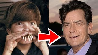 Charlie Sheen from 1 to 51 years old