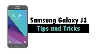 Samsung Galaxy J3 Emerge - Tips and Tricks | H2TechVideos