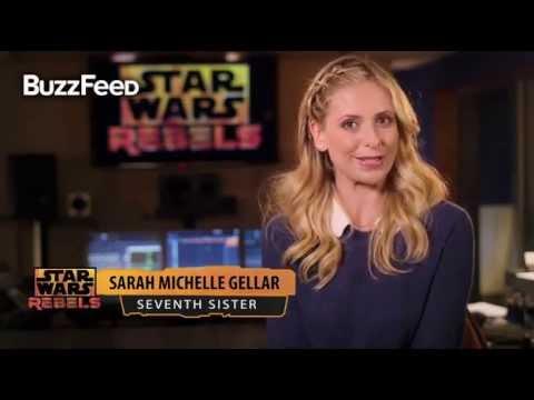 Star Wars: Rebels Season 2 - Sarah Michelle Gellar Interview