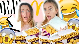 CHICKEN NUGGET CHALLENGE W/ MY MUM! *FAIL* 😱