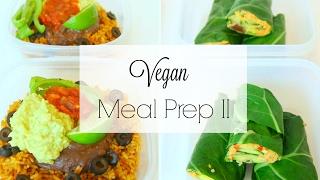 PLANT-BASED VEGAN MEAL PREP | Easy & Healthy