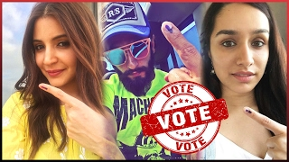 -Bollywood Celebrities Voting For Mumbai - BMC  Election- (Video )