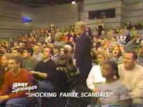 Jerry Springer Show Shocking Family Secrets