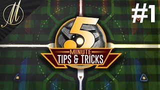 5 Minute TIPS & TRICKS #1 | Rocket League Tutorials