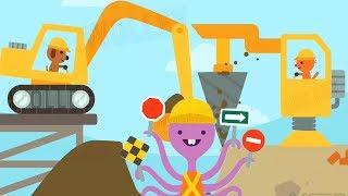 Fun Sago Mini Trucks & Diggers - Fun Kids Build All New Sweet Sago Sago Home Construction Building