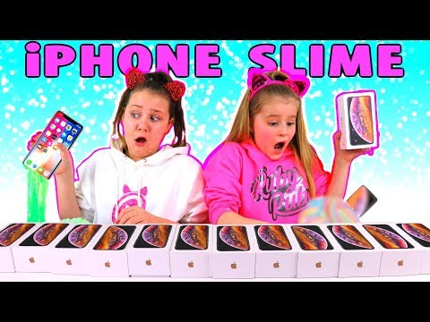 Don t Choose the Wrong iPhone XS Slime Challenge