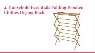 Top 10 Best Folding Clothes Drying Racks in 2019 Reviews