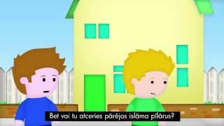 5 Pillars part 2 - LATVIAN w/subs   Pieci Islāma Pīlāri