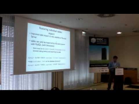 Xxx Mp4 Alexey Kopytov Taking Hot Backups With XtraBackup MP4 3gp Sex