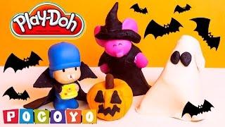 Pocoyo Play Doh Halloween Costume DIY Play Doh Pocoyo Пластилін Покојо