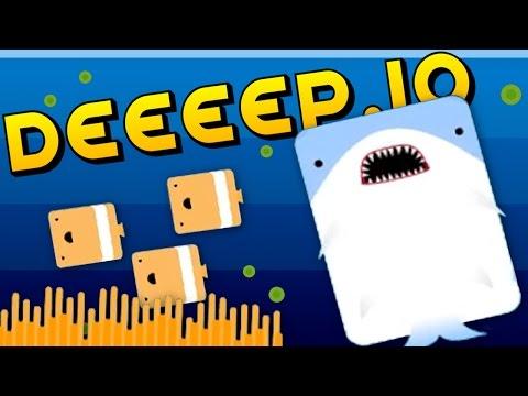 THE LEGEND OF FEEEESH Deeeep.io Gameplay
