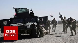 Mosul offensive now focused on city
