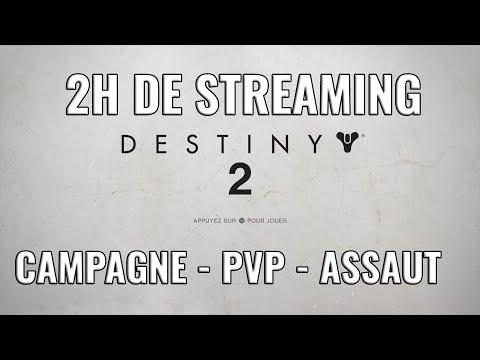 DESTINY 2 - BETA - CAMPAGNE - PVP - ASSAUT !