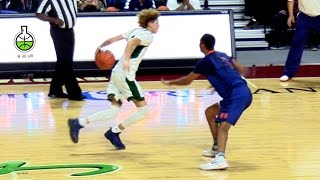 LaMelo Ball Shows Off Amazing Point Guard Ability!! Raw Footage Highlights