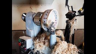 Woodturning - A Maple and Milliput Epoxy Bowl