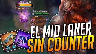 ¡MIDLANER SIN COUNTER! | ¡DESTROZA A TODOS CON GRAGAS MID!