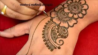 Latest Arabic Henna Designs For Hands   Mehndi Designs Matroj Mehndi Designs