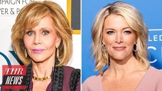 Megyn Kelly Responds to Jane Fonda, Has No Regrets Over Cosmetic Surgery Question | THR News