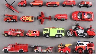 Learn vehicles for kids | toy videos for children and babies | police vehicles