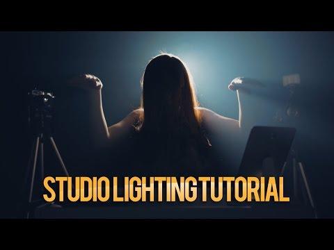 Studio Tour & Lighting Tutorial Tutorial Videografi 6