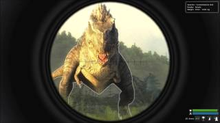 The Hunter:Primal 3 T-Rex Kill at Madame Celeste's Lab