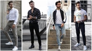 4 EASY & AMAZING OUTFITS FOR MEN | Men