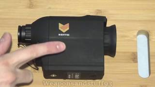 Nightfox 80R Review and footage