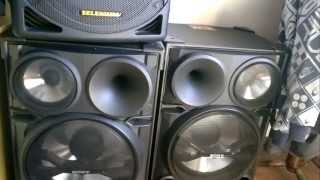 Instalação Som Sony Genezi 2000 wts + Caixa Amp Selenium