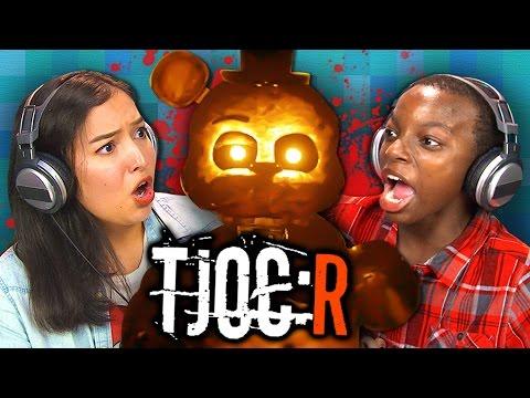 JOY OF CREATION: REBORN (Teens React: Gaming)