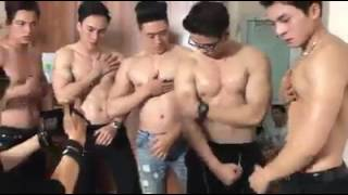 Gay - sexy body - six pack
