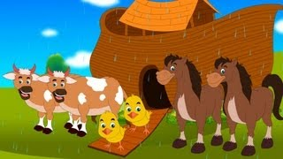The animals went in two nursery rhyme with lyrics