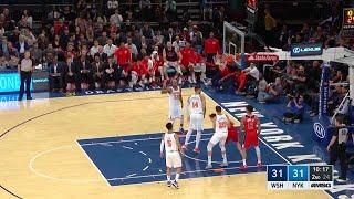 Quarter 2 One Box Video :Knicks Vs. Wizards, 10/12/2017