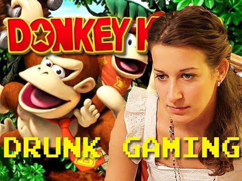 Drunk Gaming Donkey Kong Country Returns