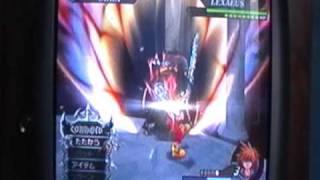 Kingdom Hearts 2 FM+ Lexeus Data Battle