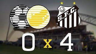 África do Sul 0 x 4 Santos - Gols - Durban Under 19s International Football Tournament