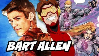 The Flash Season 4 Bart Allen and Barry