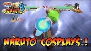 Naruto Shippuden Ultimate Ninja Storm 3 - PS3/X360 - Naruto Cosplays!