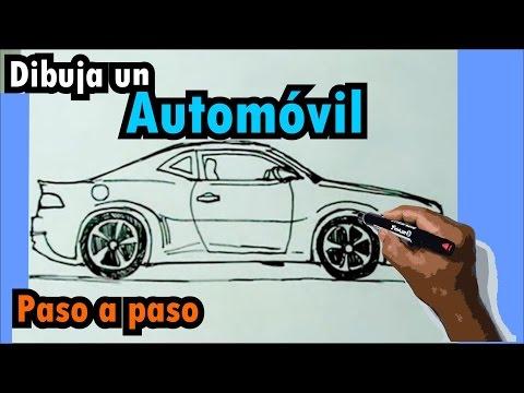 Aprende a dibujar vehículos paso a paso 1 6 Auto deportivo