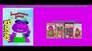 Barney's Imagination Island RARE 1999 VHS Opening & Closing