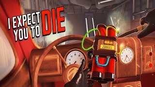 [VR] I Expect You To Die # 1 - Party in meinem Wagen