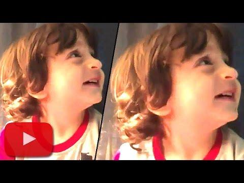 Shahrukh's Son AbRam TALKING To Aryan Khan | LehrenTV